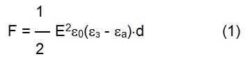 Разрушение цементного зерна в результате воздействия электростатических сил на границе раздела «цементное зерно – гидратная оболочка» из среды с большей диэлектрической проницаемостью может происходить по диаметру, который определяется выражением