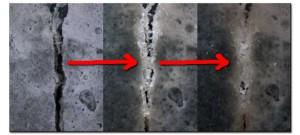 Самовосстанавливающийся бетон, который с помощью бактерий способен заделывать трещины
