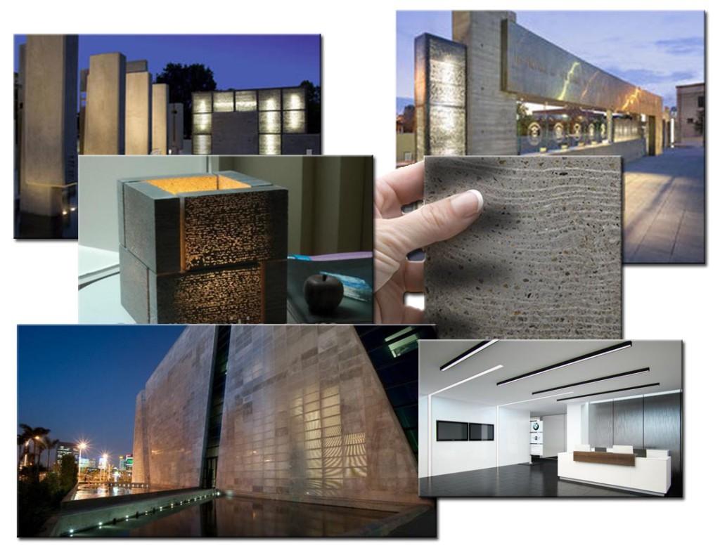 Прозрачный бетон. Применение